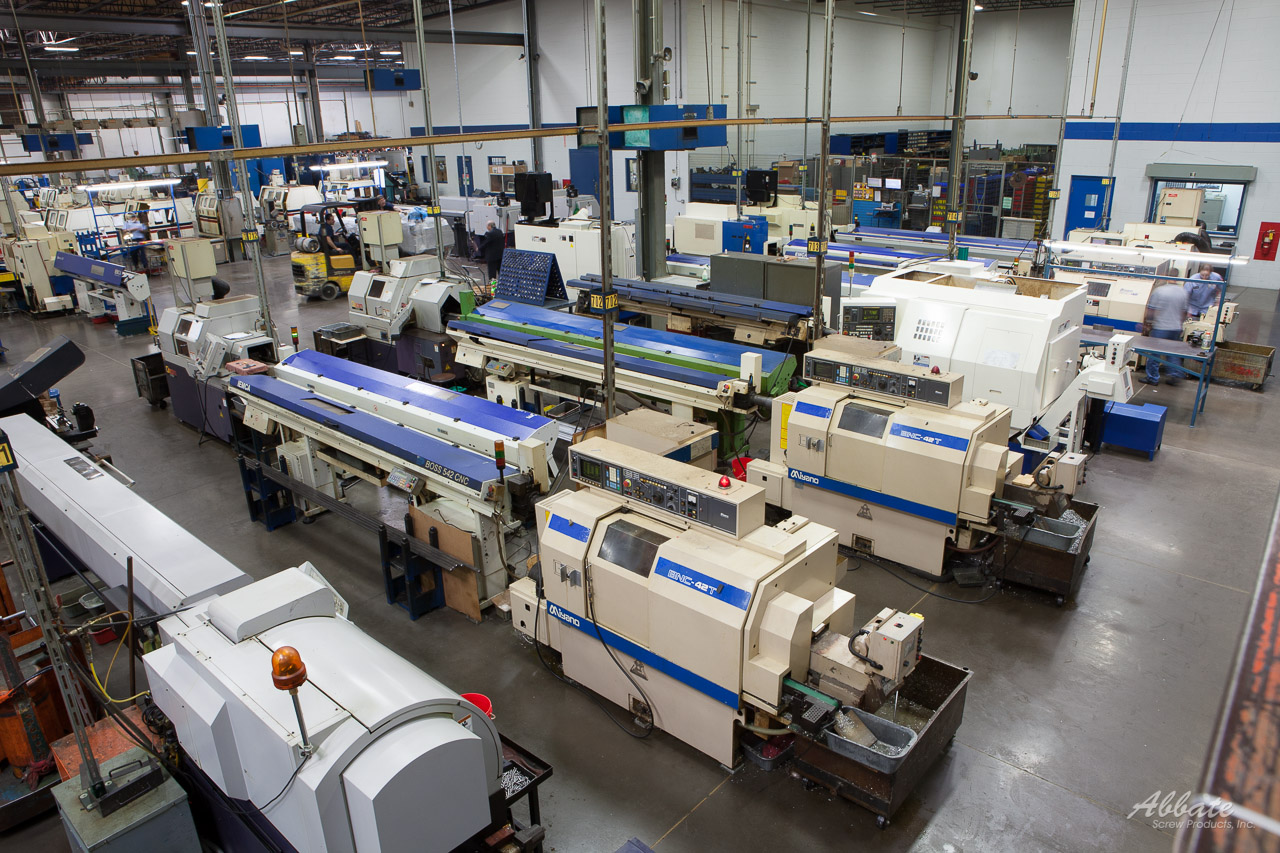 Abbate Screw Products Manufacturing Facility